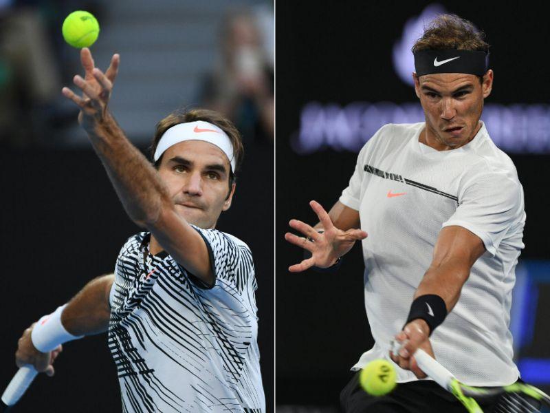 Надаль против Федерера