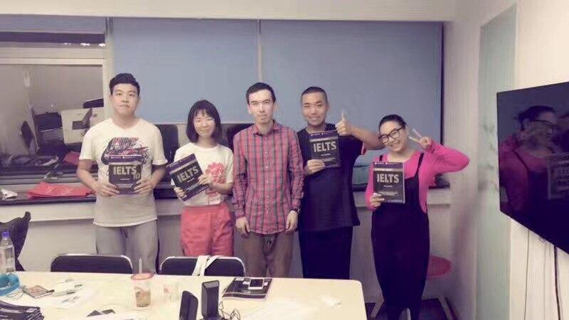 мои студенты из Пекина, работа в Пекине