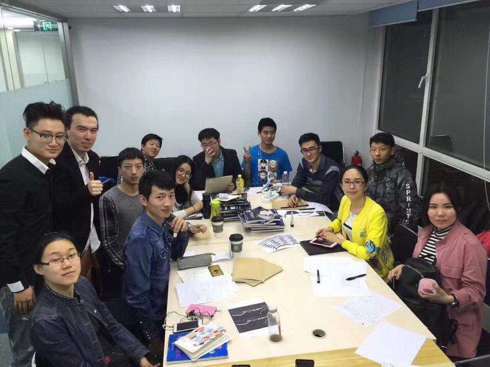 мои студенты из Пекина, обучение в Китае